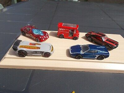 Job Lot Of 5 Assorted Old & New Hot Wheels 31-Used/Mint/Unboxed