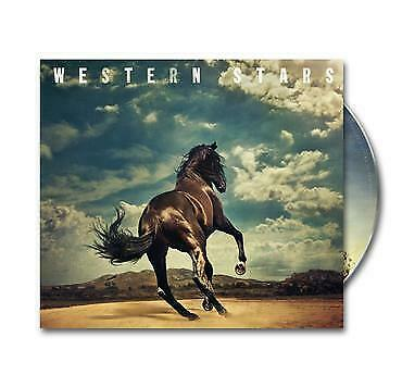 Bruce Springsteen - Western Stars (NEW CD ALBUM + A5 PRINT) Preorder 14th June