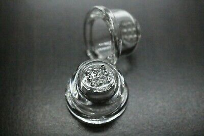 2x Silicon Hand Pipe Glass Bowl Replacements W/Honeycomb