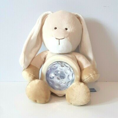 Diinglisar Plush Bunny night light battery multi color baby nursery decor EUC