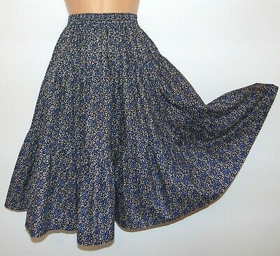 Laura Ashley Vintage - Made in Great Britain - Rare Tiered Gypsy Skirt, 8 Years