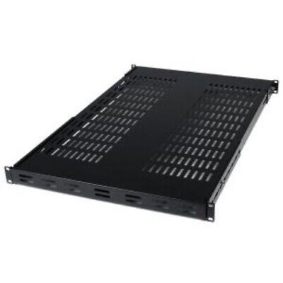 NEW STARTECH ADJSHELF ADJUSTABLE MOUNT DEPTH RACK MOUNT SHELF.b.