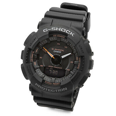 Casio GMAS130VC-1A G-Shock S Series Analog/Digital Women's Sports Watch (Black)