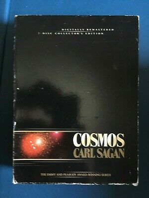 Cosmos Carl Sagan The Complete Collection (DVD, 2002, 7-Disc Set) used, preowned