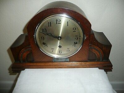 Urgos, Whittington / Westminster Chimes Mantle Clock Dated 1934, For Restoration