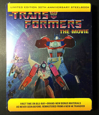 The Transformers: The Movie Limited Edition 30th Anniversary Blu-Ray Steelbook