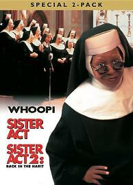 Sister Act/Sister Act 2 - Back In The Habit [DVD] [1994], DVDs