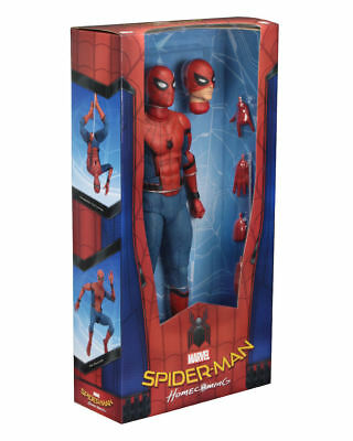 SPIDERMAN: Homecoming - Spiderman 1/4 Scale Action Figure (NECA) #NEW