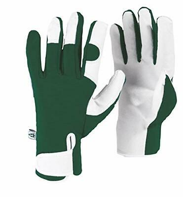 Spear & Jackson Kew Gardens Collection Leather Palm Gloves Guanti, (t0n)
