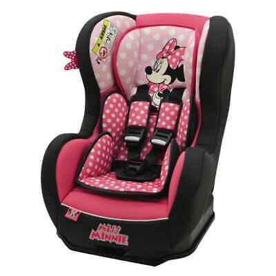 Disney Car Seat 0+1 Pink and Back Children Vehicle Safe Protector Guard Chair