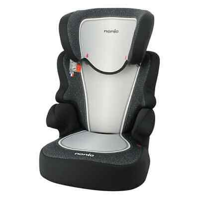 Nania Baby Car Seat 2+3 Black Children Vehicle Safe Protector Guard Chair