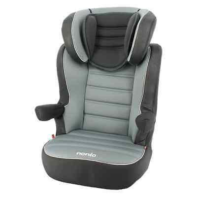 Nania Baby Car Seat 2+3 Grey Children Toddler Vehicle Safe Protector Chair