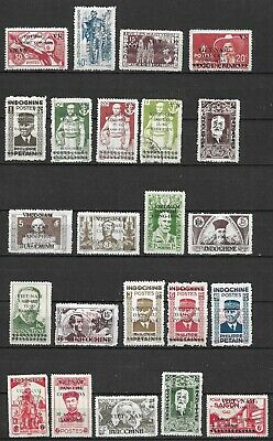 Viet Nam  North 1945-46 Issues Unused No Gum Very Fine