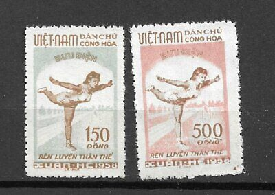 Viet Nam  North 1958  Issues  Yvert # 135-6  Mnh** Very Fine