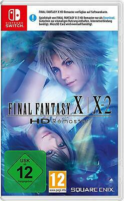 Final Fantasy x / X-2 HD Remaster Switch! Nuovo + Ovp