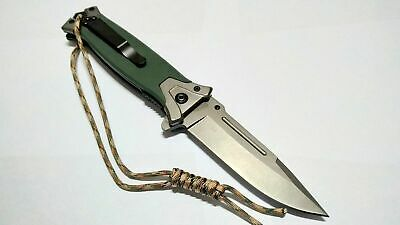 Browning Hunting Knife Combat Tactical EDC Folding Pocket Spring Assisted Blade