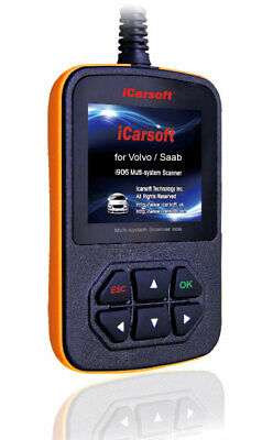 iCarsoft i906 OBD2 Diangnose Für Volvo 850 960 C30 C70 XC60 XC70 XC90 ABS Airbag