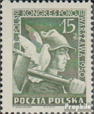 Poland 564 (complete issue) unmounted mint / never hinged 1950 Friedenskongress
