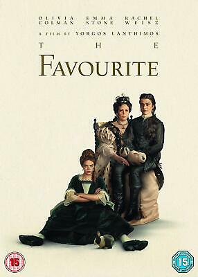 The Favourite [DVD + Slipcase] brand new shrink wrapped