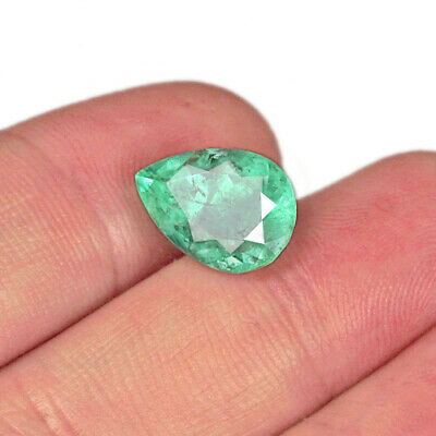 4.15Ct 100% Natural Attractive Emerald From Colombia Muzo Collection MQMD99