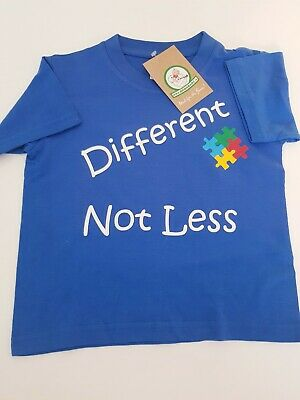 Different Not Less Autism Support T-Shirt
