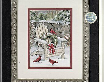 Dimensions Gold Cross stitch kit petite Christmas in the Adirondacks OOP
