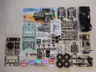 Choice of New Tamiya 'CC-01 Chassis Land Rover Defender 90 58657' Spare Parts