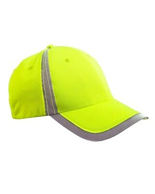 2d71bf335788a BIG ACCESSORIES BASEBALL Cap Reflective Accent Safety Hat BX023 NEW ...