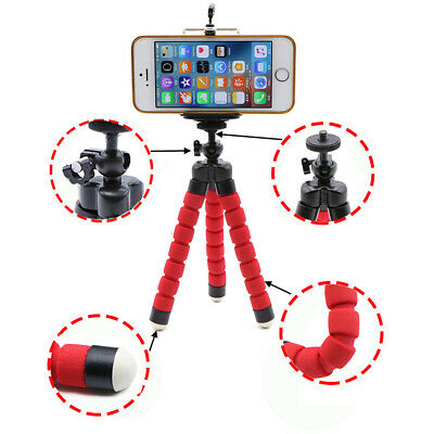 Flexible Tripod Mini Octopus Leg Style Portable and Adjustable Tripod Stand