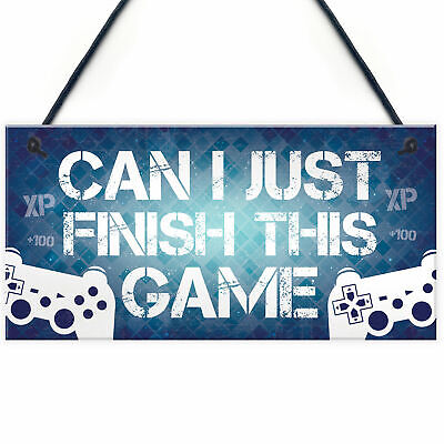 Gaming Sign For Door Gaming Sign For Wall Funny Gamer Gift For Son Bedroom Decor