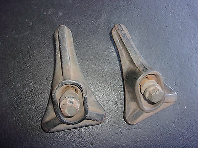1920's 1930's Dual Side Mount Spare Tire Wheel Clamps 1414696   -  SP355