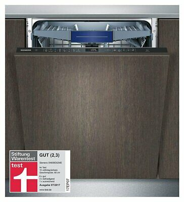 Siemens SN658D02ME iQ500 Dishwasher 60 cm Fully Integrated