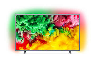 Philips 55PUS6703 55 Inch 139 cm 4K UHD with 3-sided Ambilight Silver LED