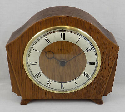 Vintage Smiths Desk Or Table Clock - Fully Working