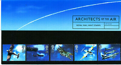 Presentation Pack 277 ARCHITECTS OF THE AIR 1997 ROYAL MAIL STAMP Post Office GB