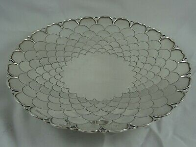 STUNNING solid silver FRUIT DISH, 1956, 558gm - Mappin & Webb