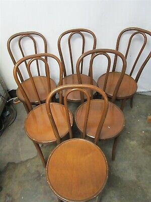 Thoret New York Chairs Set of 6 Wooden Dining Room Chair