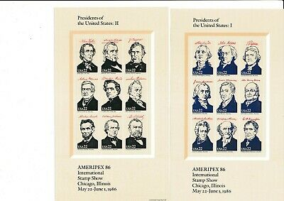 4 Blocks - Presidents of the United States - Ameripex 1986 in Chicago postfrisch