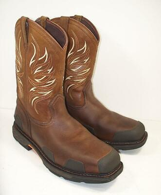 1487f58b0e5 NEW* MEN'S ARIAT Boots OverDrive 10010903 - Composite Toe Pull On ...
