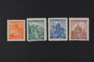 1940 MNH** German Occupation Stamps - Bohemia and Moravia.