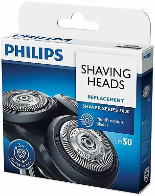 New Philips SH50/50 Replacement Blades for Series 5000 Electric Shavers, 3 heads