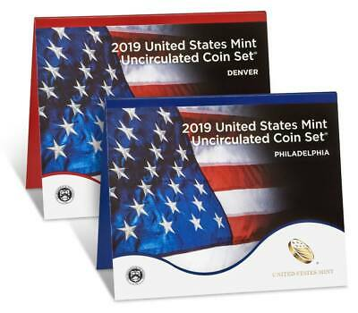 2019 MINT UNCIRCULATED COIN SET w/ UNCIRCULATED 2019 W LINCOLN PENNY, FREE SHIP