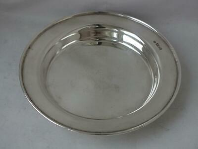 Solid Sterling Silver Dish/ Bowl 1921/ Dia 15 cm/ 128 g