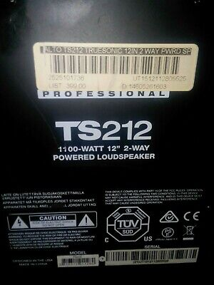 "Alto Professional TS212 Truesonic 12"" 2-Way 1100W Powered loudSpeaker"