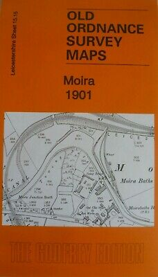 Old Ordnance Survey Maps Moira Leicestershire 1901 Godfrey Edition Special Offer