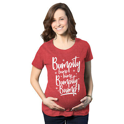 545be29d Maternity Bumpity Bump Bump Pregnancy T shirt Funny Chirstmas Baby  Announcement