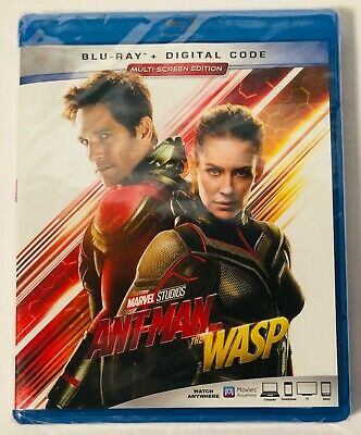 Ant-Man and the Wasp (Blu-ray+Digital) BRAND NEW FACTORY SEALED