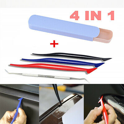 4PCS Car Foil Auxiliary Tool is Suitable for The Auxiliary Film Gap Corner Paste