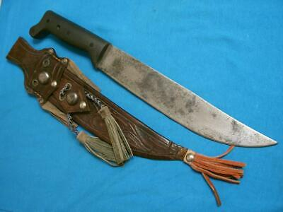 Vintage Imacasa Corneta Machete Jungle Survival Knife Knives Sheath Hunting Old