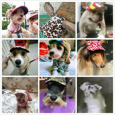 Pet Dog Hat Sports Windproof Travel Sun Hats Baseball Cap for Puppy Large Dogs
